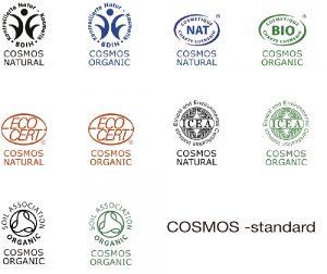 Sellos cosmética natural y orgánica